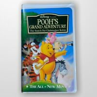 Poohs Grand Adventure: The Search for Christopher Robin VHS Movie