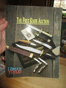 American Knives The First KNIFE AUCTION And Collector's GUIDE J BRUCE VOYLES