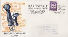 Sir Francis CHICHESTER 1967 FIRST DAY COVER FDC-Barnstaple Devon POSTMARK
