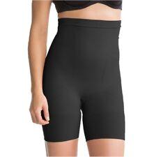 Spanx Slim Cognito High Waist Mid Thigh Shaping Shorts 2433 Black Large UK 16/18