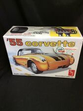 1/25 AMT 1955 CHEVROLET CORVETTE MODEL KIT OPENED