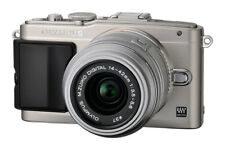 Olympus PEN Lite E-PL5 Compact Digital Camera w/ 14-42mm Lens - Silver