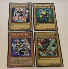 Yu-Gi-Oh! Magnet Warrior Alpha Beta Gamma Valkyrion Secret Rare Set Nr Mint