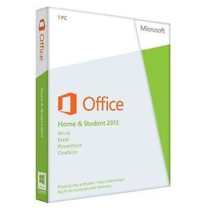 Microsoft Office Home and Student 2013 PKC, deutsch (79G-03604) NEU