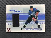 1999-00 BE A PLAYER BAP MEMORABILIA STEVE YZERMAN GAME-USED JERSEY #J-29 CREASE