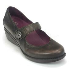 Womens Dansko Adelle Brown Brush Nappa Leather Mary Jane Shoes Size 40 / 9.5-10