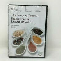 Great Courses The Everyday Gourmet: Rediscovering the Lost Art of Cooking (DVD)