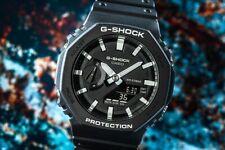 casio g-shock da uomo nero digitale analogico resina carbonio cronografo 5 alarm