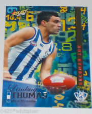 2016 AFL Select Footy Stars Hot Numbers Card #HN94 Lindsay Thomas -Nth Melbourne