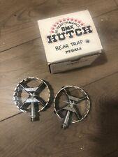Hutch Jdb 9/16 New Pedals Old School Bmx Polished Gt Dyno Haro Pro Size