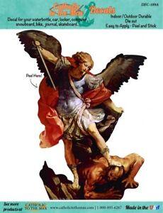 Car Decal Color Vinyl Saint Michael the Archangel