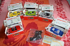 (5) lot BURAGO DIE CASTCARS*SHELBY-911 PORCCHE-GIUGIARO PRIMA-BMW Z8-PORSCHE GT3