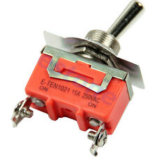 1pc High Quality 15A 250V SPST 2 Terminal ON OFF Toggle Switch New