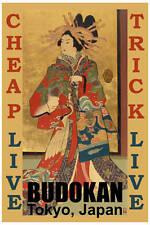 Surrender : Cheap Trick at * Budokan * Concert Poster 1978 12x18