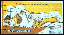 Buvard Publicitaire, M.PORTENSEIGNE SA. Antennes radio télévision 2e chaine