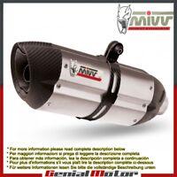 Tubo De Escape Silenciador MIVV Suono para Moto Guzzi Breva 1200 2007 > 2011
