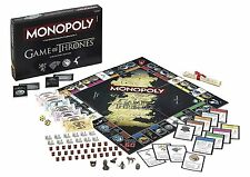 Game of Thrones Monopoly board game Collector's Edition New