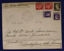 Office Postal Special 5 via Aerea Stamp Arrival Stamped 2.12.1937 #XP172F