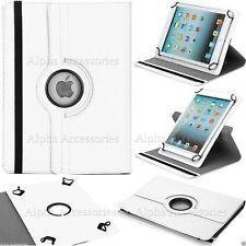 """Universal Rotación 360º SOPORTE CUERO de PU Funda para 7"""" To 8"""" tablets, iPad,"""