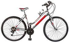 """Bicicletta MTB GALANT LY26 LINCY 26 ragazza 26"""" acciaio shimano 18 V ARGENTO"""