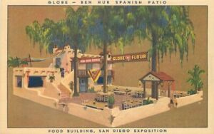 Advertising Globe Flour San Diego California Exposition Postcard 21-2013