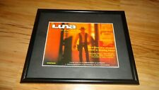 LUNA pup tent-framed original press release promo advert