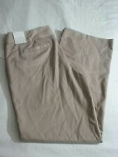 Fashion Bug Women's Career Dress Pants Size 12 Average Tan Wide Band