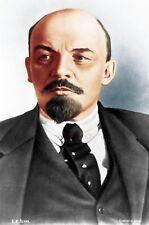 Retrato de Lenin Rusia Comunismo soviético 7x5 pulgadas impresión
