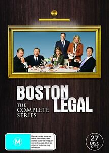 BOSTON LEGAL: The Complete Series (DVD, 27 Discs) NEW & SEALED