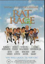 RAT RACE - ROWAN ATKINSON,  CLEESE & GOLDBERG -  NEW  R4 DVD FREE LOCAL POST