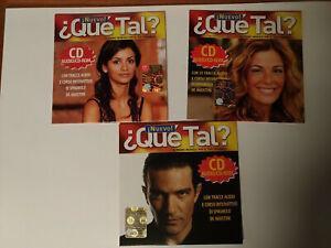 QUE TAL? nuevo! - corso interattivo di spagnolo - 3 CD-ROM