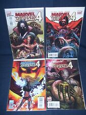 Marvel  Zombies 4 #1 -#4 complete Set (2009) NM with Bag and Board Marvel