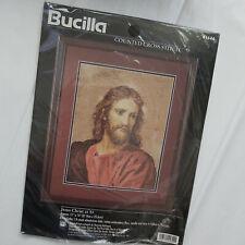 BUCILLA Jesus Christ At 33 Counted Cross Stitch Kit #41644 Aida & Floss 11x14