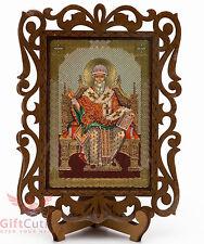 Saint Spyridon Икона Святой Спиридон Тримифунтский Orthodox Icon Wood
