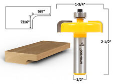 Raised Panel Backcutter Router Bit 12 Shank Yonico 12152