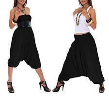 Women Ladies Full Length Casual Harem Pants Baggy Loose Trousers Leggings