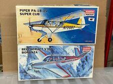 Academy Minicraft 1/48 Beechcraft V35A bonanza & Piper PA-18-35 Super Cub