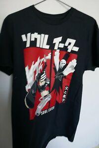 New Soul Eater Black Boys Cotton Short Sleeves T-Shirt Size M