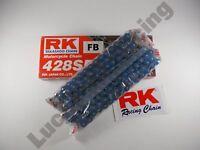 RK BLUE 428 pitch 118 link chain for some Yamaha Suzuki honda Kawasaki 125 250