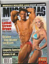 MuscleMag Bodybuilding LINGERIE Magazine/Dan Decker/Kendra Wilkerson 12-05 #282