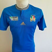 superbe  maillot de rugby ITALIE   marque adidas   taille s 2015