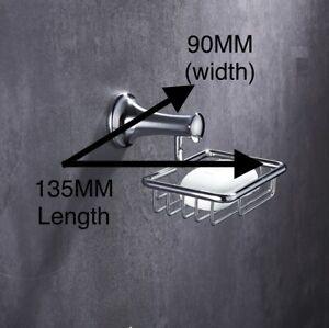 Luxury Soap Basket & Holder | Soap Holder| Wall Mounted for Bathroom & Kit