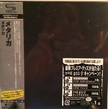 METALLICA THE BLACK ALBUM JAPAN SHM MINI LP CD NEW