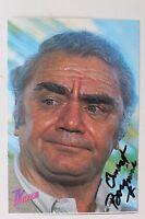 27149 Originale Autografo Foto Autografata Ernest Borgnine Del 1986