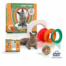Litter Kwitter Cat Toilet Training System With Instructional DVD - LK1