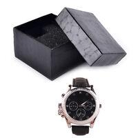 Noir pu noble durable présent coffret cadeau boîte pour montre bracelet bijoux