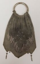 Victorian Miser sterling Silver Purse (800)