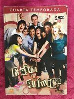 FISICA O QUIMICA EN DVD CUARTA 4ª TEMPORADA CON 5 DISCOS   AM