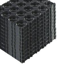 50Pcs 4x5 Cell 18650 Batteries Spacer Radiating Shell Plastic Holder Bracket Kj