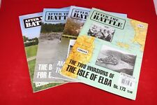 (BS) Military Magazine After the Battle Lot of 4 Buna Moselle Elba
